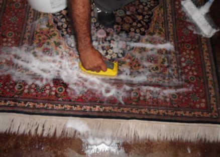 tips på att rengöra orientaliska mattor
