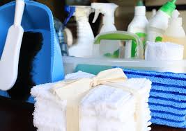 bli mer organiserad i din hemstädning med en städlåda